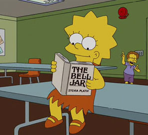 El club de lectura de Lisa Simpson