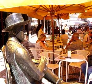 Diez cafés literarios con historia
