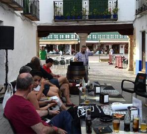 Un recital poético, sin permiso del Ayuntamiento de Almagro