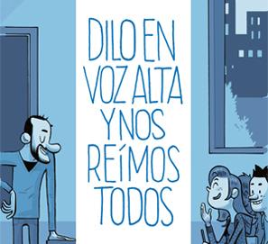 'Dilo en voz alta y nos reímos todos', de Fernando J. López