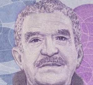 Gabriel García Márquez, homenajeado en un billete colombiano