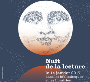 Noche de la Lectura: Francia, enero de 2017