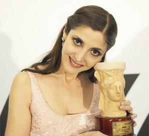 Espido Freire, Premio Azorín 2017 por 'Llamadme Alejandra'