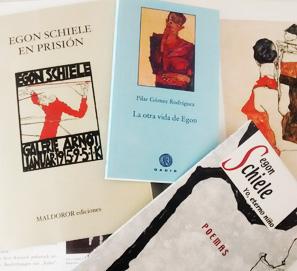 Los libros de Egon Schiele