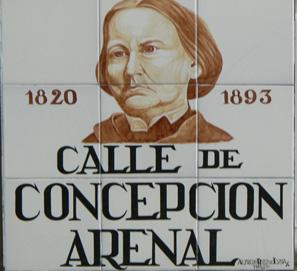 La biografía y las obras de Concepción Arenal