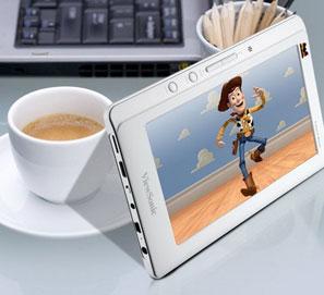 ViewSonic lanza su tablet MB-P702