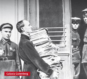 Sobre los escritores rusos represaliados: La palabra arrestada