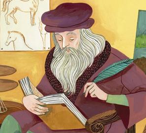 Libros sobre Leonardo da Vinci para niños