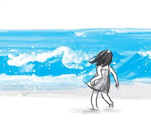 La ola, de Suzy Lee. Un cuento que enseña a amar los libros.