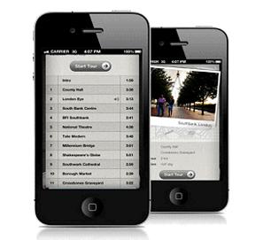 Audioguías Lonely Planet para iPhone - Londres y París
