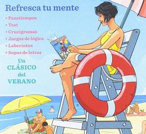 Selección de libros y cuadernos de actividades para adultos
