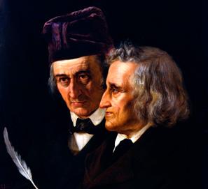 Los hermanos Grimm, coleccionistas de cuentos