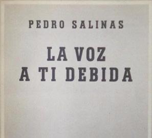 Selección de poemas de Pedro Salinas