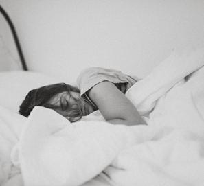 Durmiendo o dormiendo