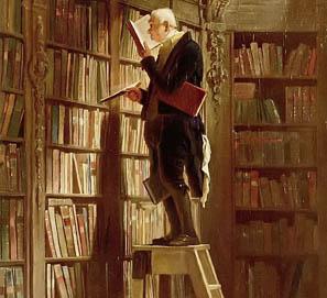 Los libros a través del arte