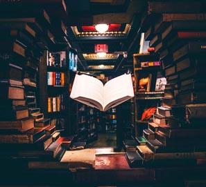 Las partes de un libro: portada, índice, cubierta, guardas...