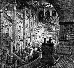 El comienzo de Tiempos difíciles, de Charles Dickens