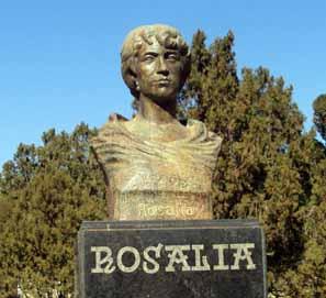 Diez poemas de Rosalía de Castro