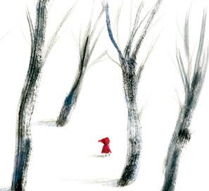 Caperucita Roja en las ilustraciones de Adolfo Serra