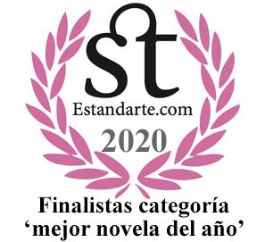 Premios Estandarte 2020: mejor novela del año
