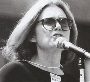 Gloria Steinem, activista, periodista y escritora