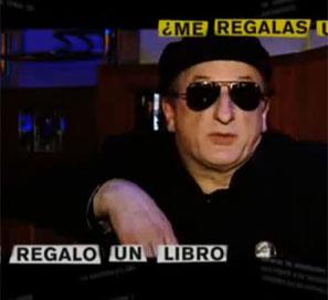 La Noche de los Libros y Javier Gurruchaga