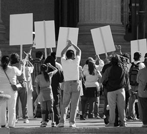 Huelga general, reforma laboral y piquetes