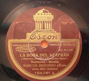 Los fondos sonoros de la Biblioteca Nacional de España