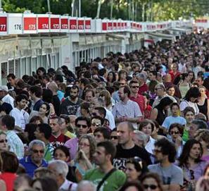Ventas de la Feria del Libro de Madrid