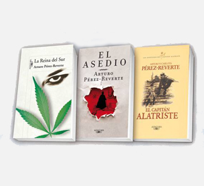 Arturo Pérez-Reverte en libro electrónico