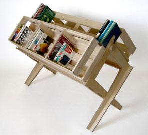Almacenaje de libros y expositor: una opción muy elegante