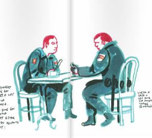Cuaderno de Sol, los dibujos 15M de Enrique Flores