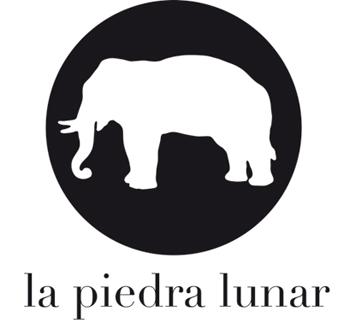 Logo de la editorial La Piedra Lunar