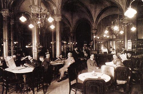Central, otro mítico café literario en Viena